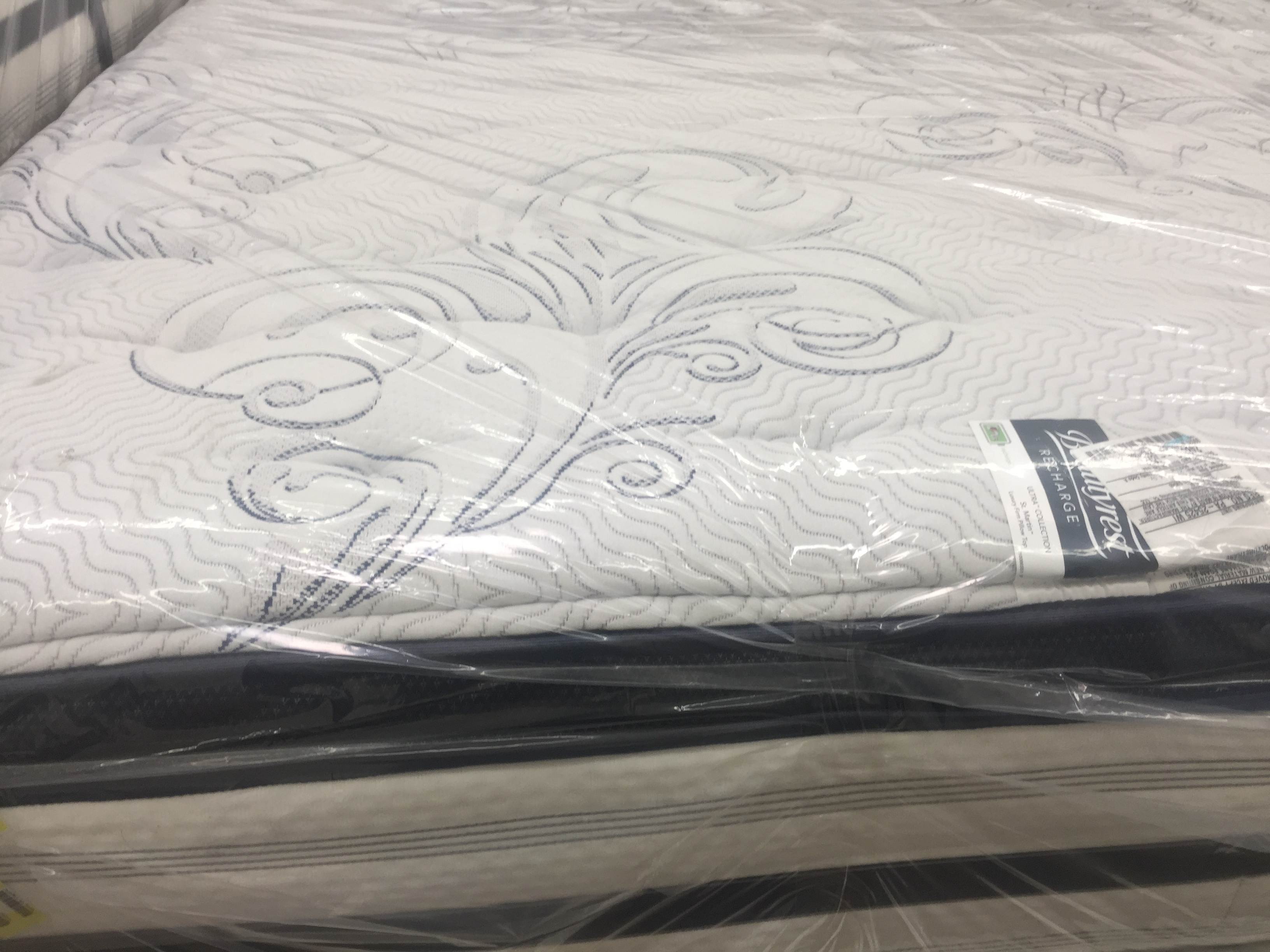 Simmons Recharge Euro Pillow Top Luxury Firm King Mattress