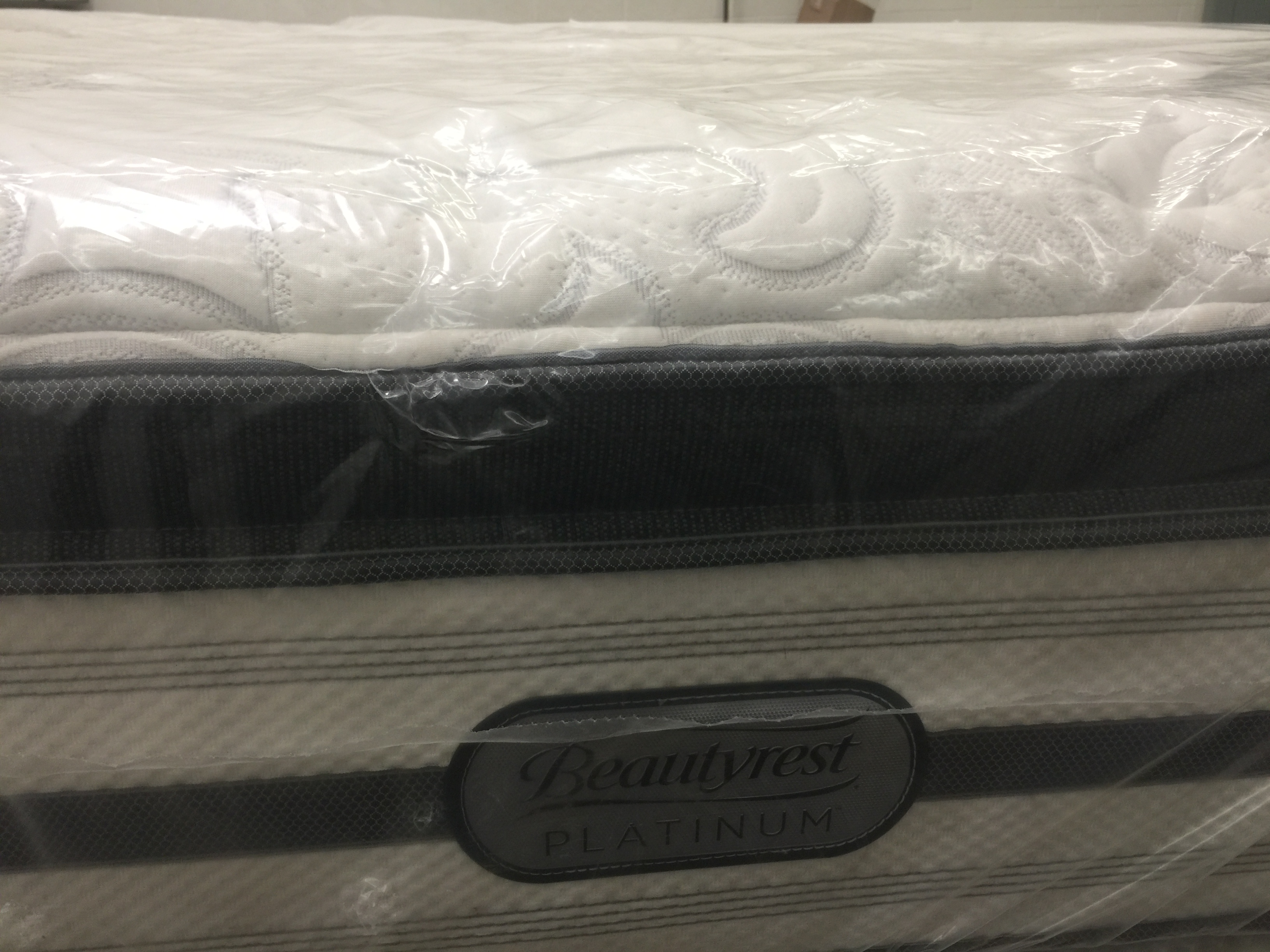 Simmons Platinum Euro Pillow Top Luxury Firm King Mattress